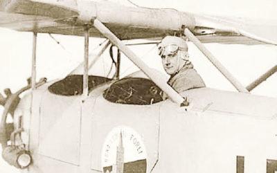 L'aviateur qui faisait coucou à sa maman