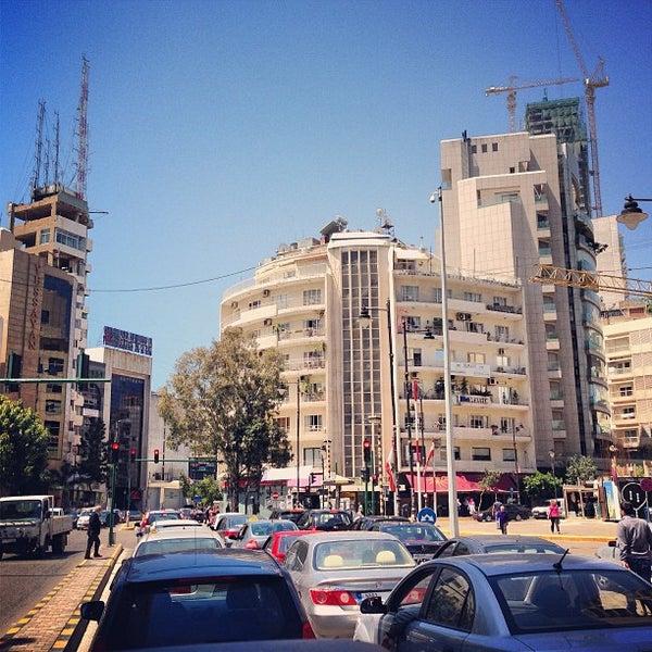 La blague de la place Sassine, à Beyrouth