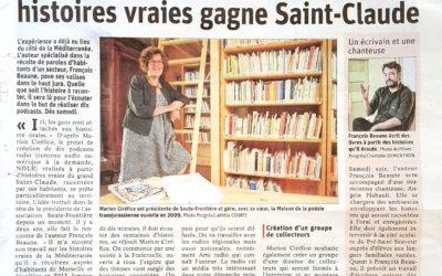 Après Marseille, la chasse aux histoires vraies gagne Saint-Claude