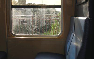 Rencontre inopinée sur le RER B, par Sajia