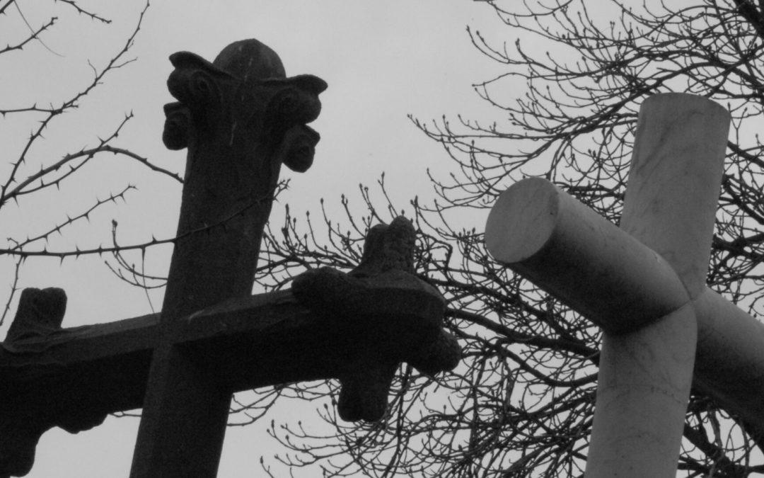 Bêtises au cimetière, par Hilde