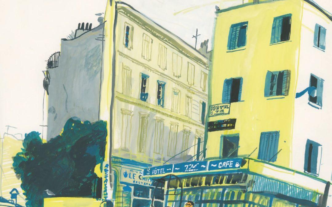 Marseille, par Mohamed Kacimi