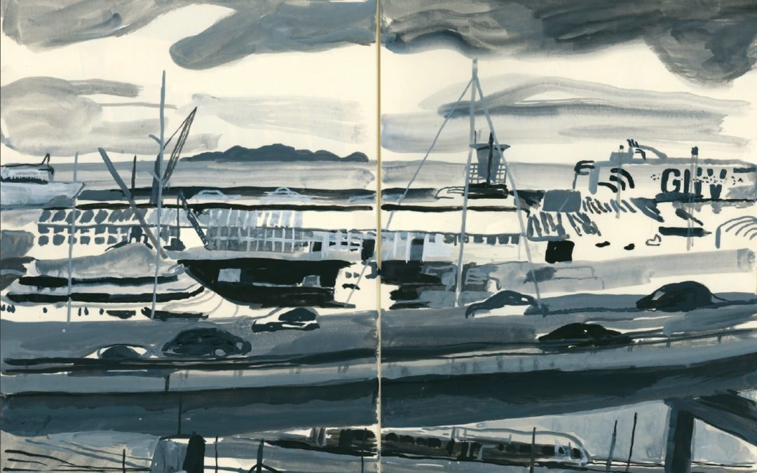 Les docks de Marseille, par Lucien